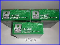 3x 100 LED M5 Icicle Lights White Wedding Christmas Holiday Party with 8 functions