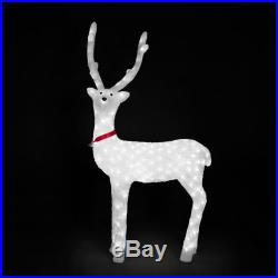 "40"" Acrylic Christmas Deer Holiday Lights LED Lights Decor Outdoor Inside"