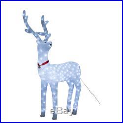 40'' Acrylic Christmas Deer Holiday Lights LED Lights Decor Outdoor Inside