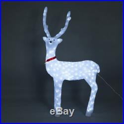 40 Acrylic LED Lit Christmas Holiday Decorative Light Deer Reindeer Decoration