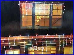 450 Multi Color LED Micro Icicle-style Lights Outdoor Christmas Wedding Lights