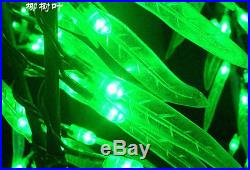 4ft LED Willow Tree Light Outdoor Christmas Light Holiday Lamp 288pcs LEDs Green