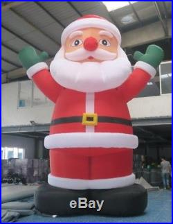 4m giant outdoor christmas inflatable santa claus for advertising large outdoor