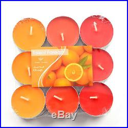 50×9pcs Unscented Tea Light Candles Holiday Christmas Party Wedding Decoration