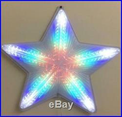 50cm Digital Flashing Star Multi Colour Led Light Christmas Xmas Gift Xm0074