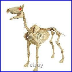 54 Standing Halloween Skeleton Pony prop (New in box)