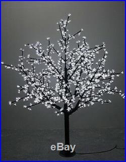 5FT 480pcs White LED Cherry Blossom Tree Wedding Christmas party Holiday Decor