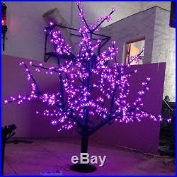 5Ft 1.5M 624Pcs white LED Cherry Blossom Tree Christmas Wedding Garden Light