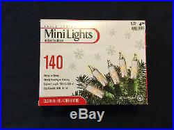 5 Boxes 140 Mini Lights String Clear Steady or Flashing Party Wedding Christmas