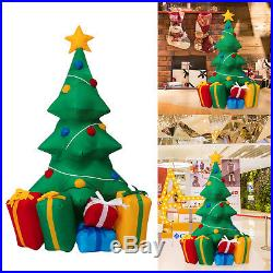 5 Inflatable Christmas Tree Yard Lawn Patio Decoration Air Blown Outdoor Indoor
