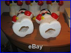 5 Vintage Snowman Pathway PATH String Lights COVERS ONLY Christmas Outdoor DECOR