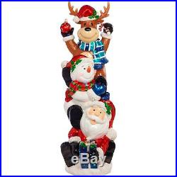 5ft Indoor/Outdoor LED Christmas Stacking Decoration Xmas Lights Ornament New