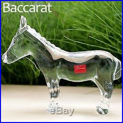 $600 BACCARAT Crystal NATIVITY DONKEY 6×7 ASS BURRO MULE CRECHE NIB 2605763