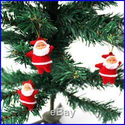 6Pcs Christmas Santa Claus Xmas Tree Hanging Ornaments Decorations Home Party