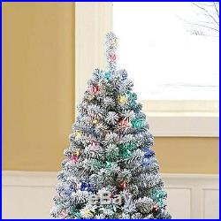 6.0' Artificial Christmas Xmas Tree 484 Branch Tips 150LED Color Changing Lights