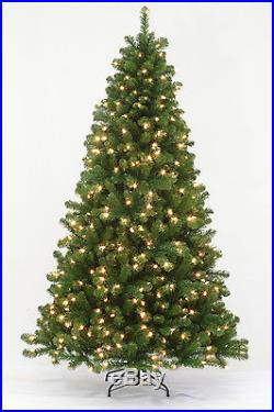 6 5 Arctic Spruce Artificial Christmas Tree With Multi