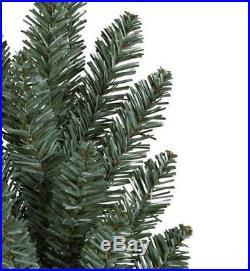 6.5' Balsam Hill Blue Spruce Prelit Artificial Christmas Tree, Green