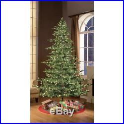 6.5 ft. Pre-Lit Incandescent Aspen Green Fir Artificial Christmas Tree with 500