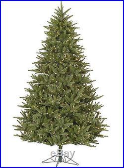 6.5′ x 53 Pre-Lit Berkshire Fir Artificial Christmas Tree Clear Dura Lights