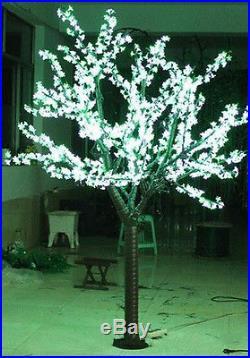 6.6Ft 1248 Pcs LED Cherry Blossom Tree Holiday Christmas Wedding Garden Light