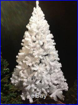 6 Foot Christmas Tree PVC Crystal White Artificial Perfect Holiday Decoration