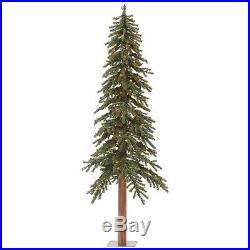 6′ X 33 Natural Alpine Christmas Tree Vickerman Pre-lit 250 Lights