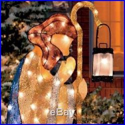 6 Pc Set Holy Family Wisemen Nativity Scene Christmas