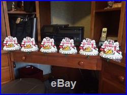 6 (six) Disney Mickey, Minnie, & Goofy Christmas Stocking Hanger. Brand new