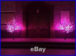 6ft 864 cherry blossom tree Xmas tree light holiday garden home yard patio decor