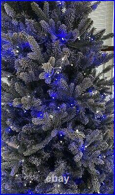 6ft Santas Best Deluxe Snow Kissed Pre-lit LED Christmas Tree