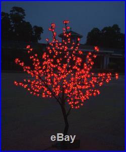6ft height LED Cherry Blossom Tree Wedding Garden Holiday Christmas Light