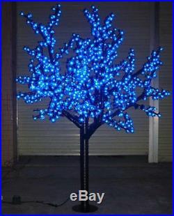 6ft height LED Cherry Blossom Tree Wedding Garden Holiday Christmas Light Blue