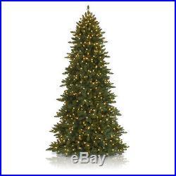 7.5′ Balsam Hill Berkshire Mountain Fir Artificial Christmas Tree & Clear Lights
