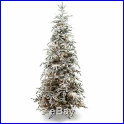 7.5′ Flocked Balsam Pine Christmas Tree