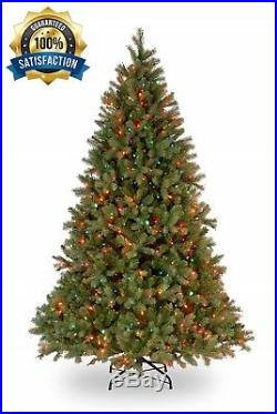 7.5 Foot Feel Real Downswept Douglas Fir Christmas Tree with 750 Color Lights