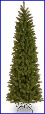 7.5 Ft. Artificial Douglas Fir Christmas Tree Pre-Lit Slim LED Lights Realistic