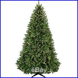 7.5′ Full Tiffany Tree Warm White LED Lights holiday artificial christmas Xmas