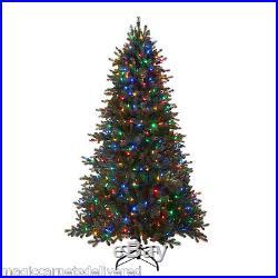 7.5′ GE Just Cut Douglas Fir Christmas Tree 400 Color Change LED