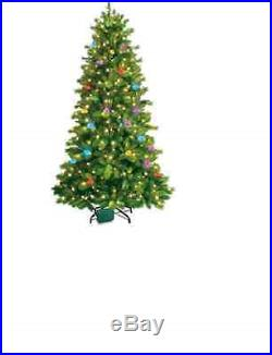 7.5' GE iTwinkle LED Color-Changing Artificial Christmas Tree Bluetooth Music
