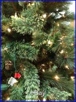 7.5' Martha Stewart Living Alexander Pine Quick-Set Artificial Christmas Tree