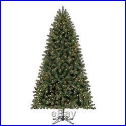 7.5′ Member's Mark Artificial PreLit LED Scotch Pine QuickSet Simple Shape Tree