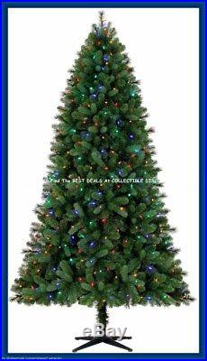 7.5′ NORWOOD SPRUCE Quick Set Pre-Lit CHRISTMAS TREE withLED Color Changing Lights