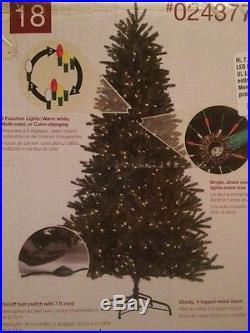 7.5' Pre-lit Englewood Pine Christmas Tree Color Changing LED Bulbs