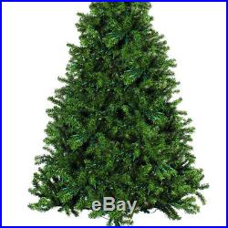 7.5-feet Pre-lit Premium Artificial Christmas Tree with 550 Clear Light Xmas Tree