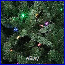 7.5 ft Artificial Christmas Tree 8 Function Color Changing Clear Sierra Nevada