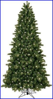 7.5 ft. Artificial Christmas Tree Pre-Lit LED Colorado Spruce Color Choice Light