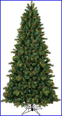 7.5 ft. Artificial Christmas Tree Pre-Lit LED Colorado ...