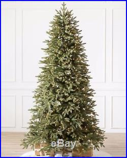 7.5 ft ClearLight STRATFORD SPRUCE NARROW CHRISTMAS TREE from BALSAM HILL