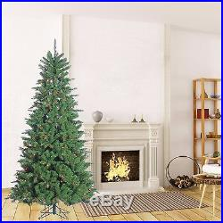 7.5 ft Mountain Spruce 700l Clear Christmas Tree