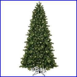 7.5 ft. Pre-Lit LED Energy Smart Just Cut Colorado Spruce Artificial Tree with
